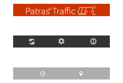 icons patras traffic mobile